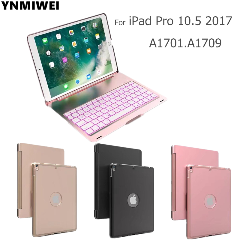 Tablet Cover For iPad Pro 10.5 inch Detachable Bluetooth Keyboard Case For 2017 iPad 10.5 A1701 A1709 Stand Cases tablet cover for ipad pro 10 5 inch detachable bluetooth keyboard case for 2017 ipad 10 5 a1701 a1709 stand cases