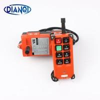 220V AC Industrial Remote Controller Hoist Crane Control Lift Crane 1 Transmitter 1 Receiver