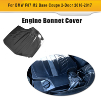 Carbon Fiber Replacement Engine Cover Bonnets For BMW 2 Series F87 M2 Base Coupe 2 Door 2016 2017