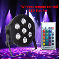 Wireless remote control American DJ tri led par Flat SlimPar Tri 7x9w LED DJ Wash Light Stage Uplighting led lamp
