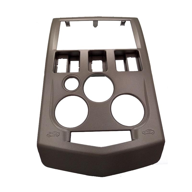 Двойной стерео Автомобильный комплект DIN для Рено Логан 2004-2007 панели Дачия Фасция уравновешивания плиты facia адаптер Безель