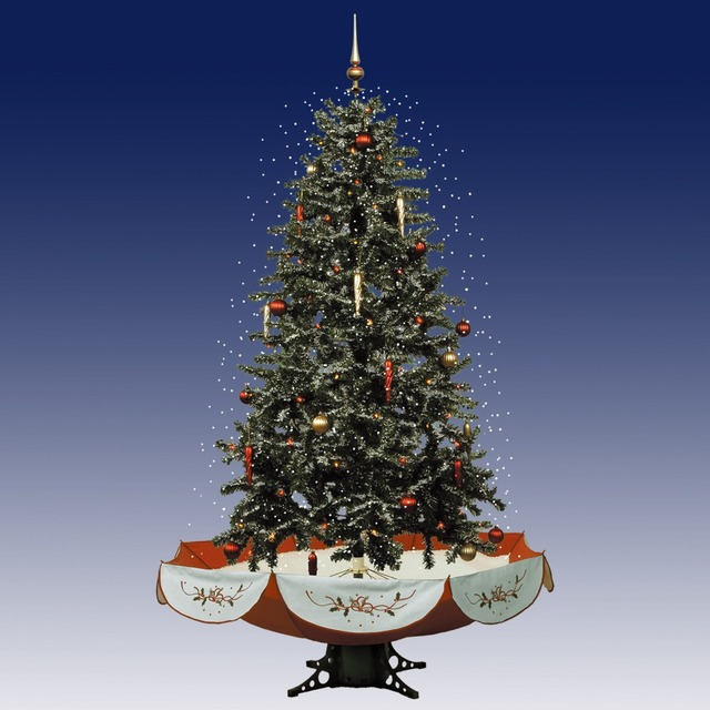 Us 233 99 6 25 Pre Lit New Fashion Musical Snowing Artificial Christmas Tree With Snow Flake Christmas Melodies And Led Lights In Trees From Home