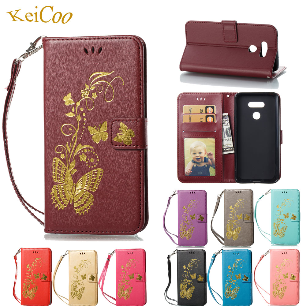 Bronzing Book Flip Covers On For Stylo 3Plus PU Leather Cover Coque Cases For LG Stylo 3 Plus M470 Cases Wallet TPU Full Housing