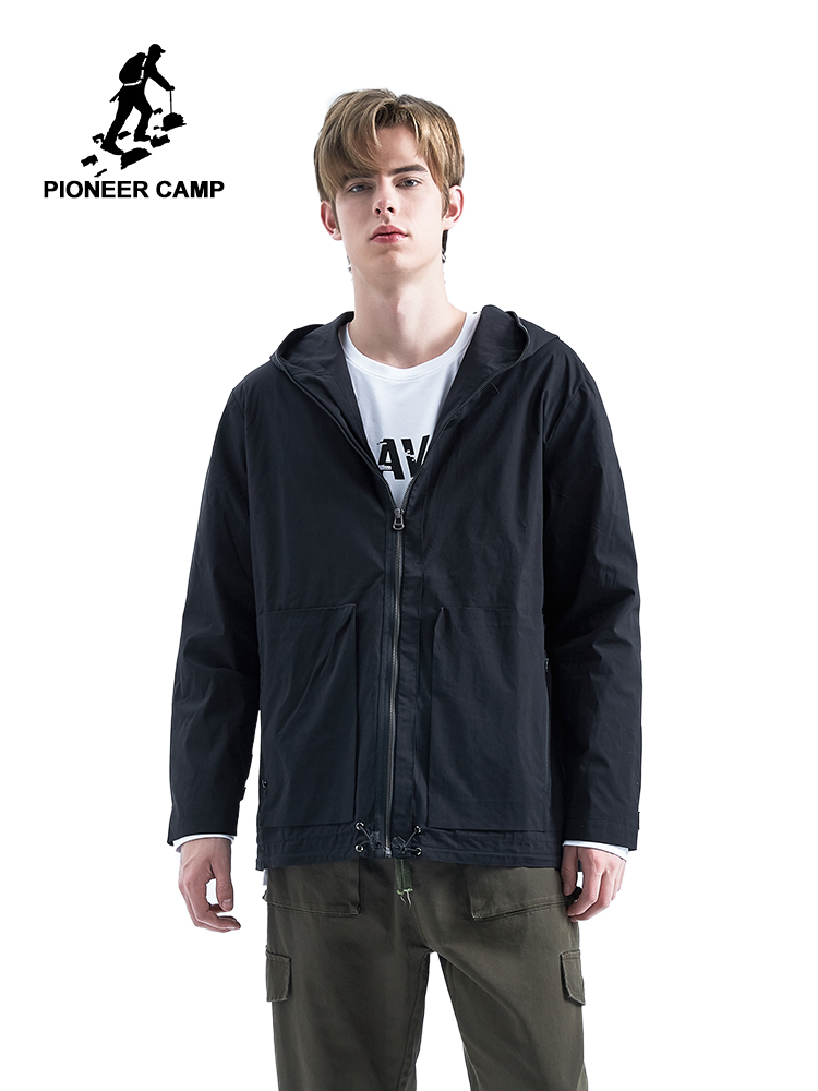 Fashion Men Automotive Jean Jackets Plus Size 3XL Mens Bomber Denim Jacket Coats Black Color Mens
