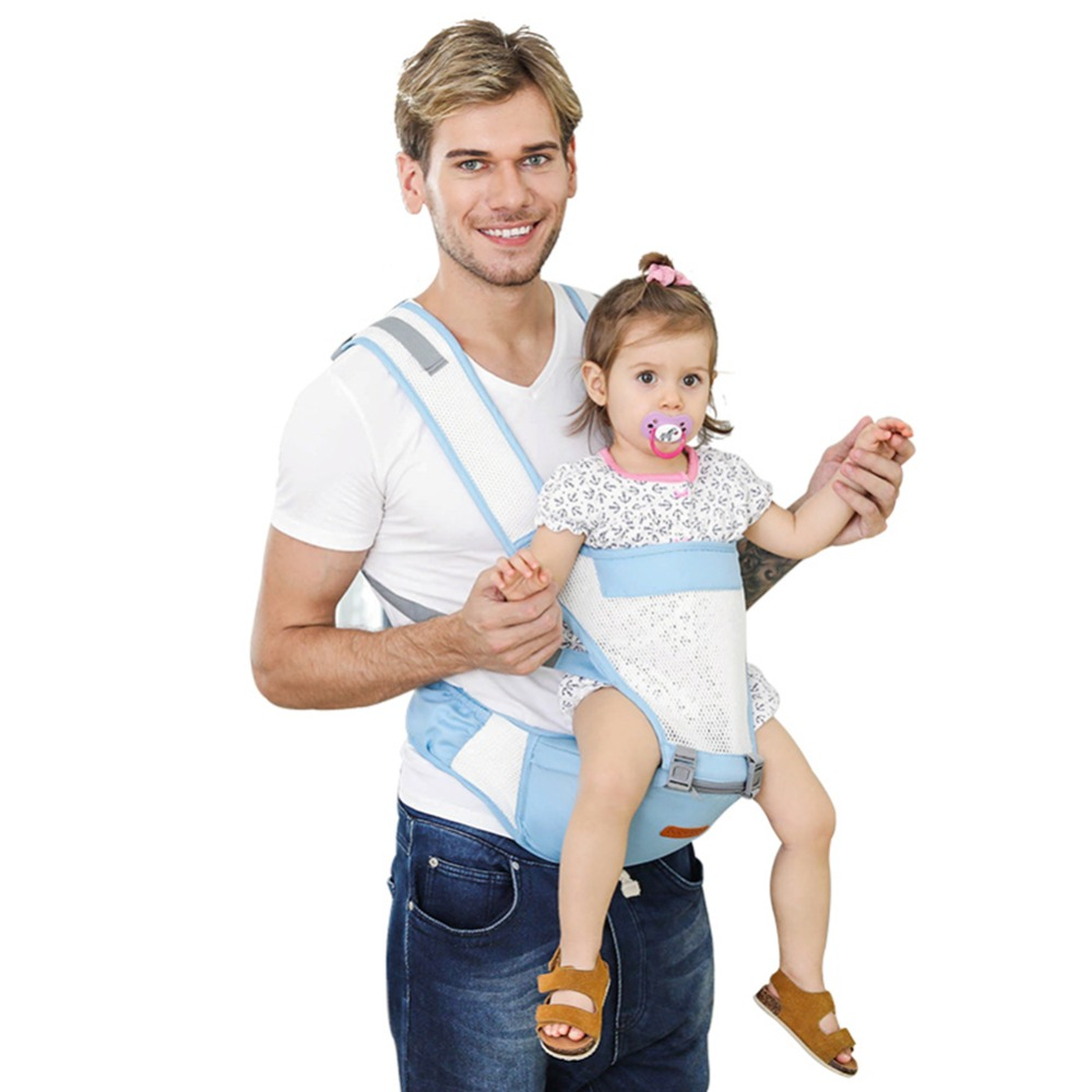 Mother & Kids Adjustable Infant Front Facing Hipseat Newborn Baby Carrier Prevent O-type Legs Toddler Sling Backpacks 0-36m Position Lap Strap