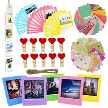 Camera Accessories Bundle Kit Set for Fujifilm Instax Square SQ20/SQ10/SQ6 Share SP-3 Films Stickers, Clips, Bag, Frames