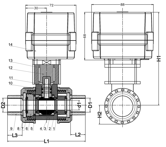 motorized ball valve wiring diagram wiring diagrams schematics 230v ac motor electric operated valve 3 point control