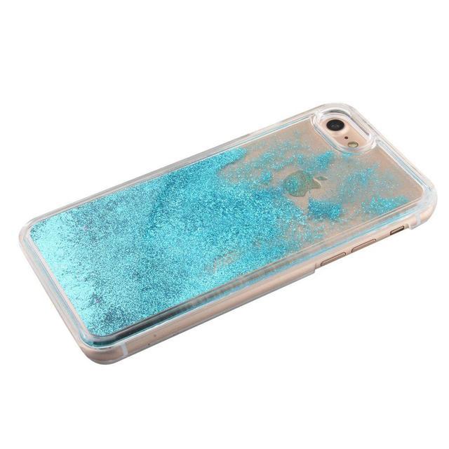 Dynamic Glitter Stars Liquid Case For iPhone 5 5S SE 6 6S 7 Plus Case Coque For Samsung Galaxy S6 S7 Edge A3 A5 2016 2015 J3 J5