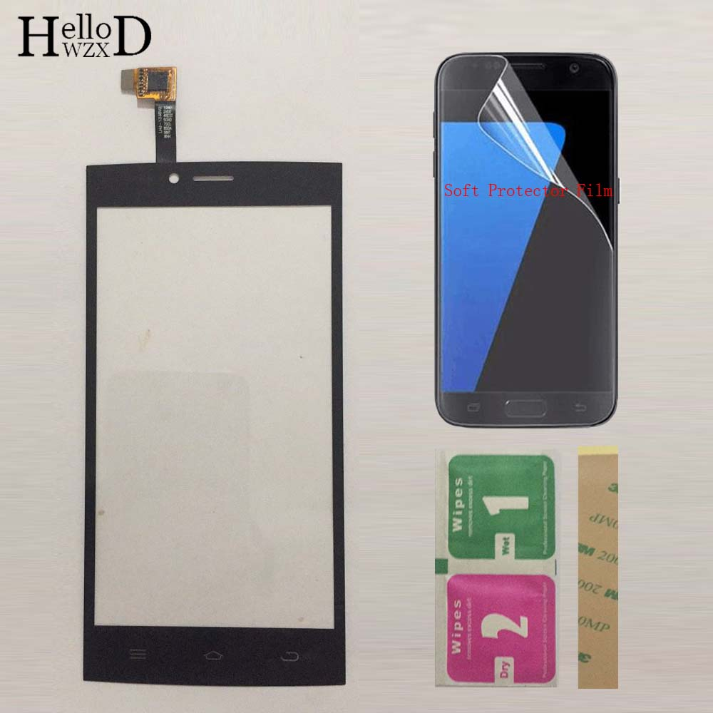 Mobile Phone Touchscreen Touch Screen Sensor For THL T6 T6S T6C Touch Screen Digitizer Front Glass Panel Repair Protector Film