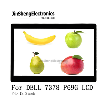 """NEW For Dell 5378 5368 7378 P69G 13.3"""" LCD Touch Screen Assembly LP133WF2-SPL2 1920x1080 RDKX touch lcd display"""