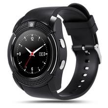 Original Sportuhr Vollbild Smart Watch V8 Für Android Spiel Smartphone Unterstützung TF SIM Karte Bluetooth Smartwatch