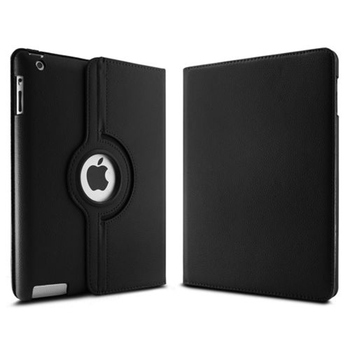 360 Rotating PU Leather Case For Apple iPad 2 iPad 3 iPad 4 magnet smart protective sleeves tablet case for iPad 2 3 4 Case 1