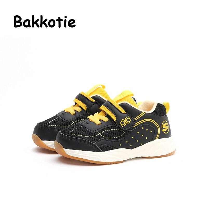 Bakkotie 2017 New Autumn Fashion Baby Boy Sport Shoe Kid Brand First Walkers Girl Leisure Sneaker Breathable Chlidren Shoes Soft