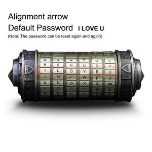 Image 5 - Creatieve Retro Verjaardagscadeau Davinci Brief Sluizen Valentijn Geschenken Klassieke Styling Da Vinci Code Lock Met Geschenkdoos
