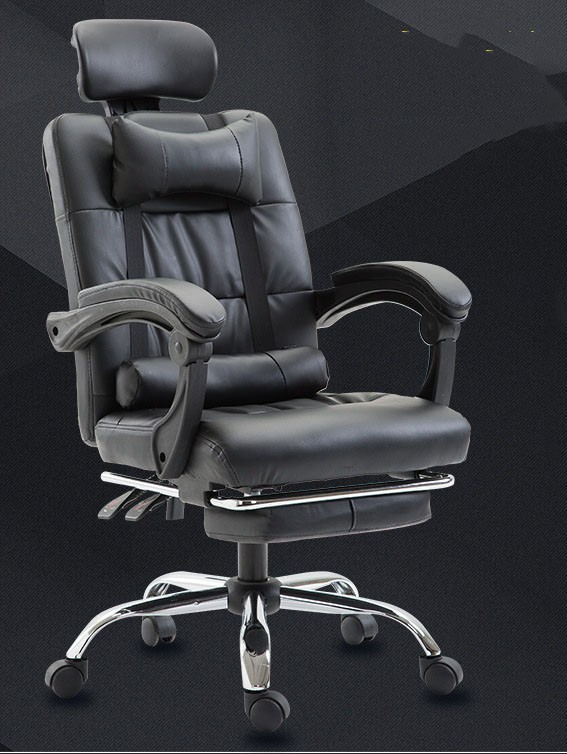 Manager leather office modern designe chairs chair computer chair reclining lift leisure chair office furniture rotate artificial leather manager chair