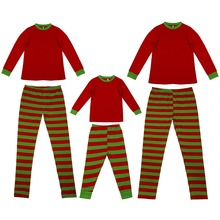 New 2pcs Set Family Christmas Pajamas Matching Parent Child Sleepwear Father Mother Kids Look Clothes
