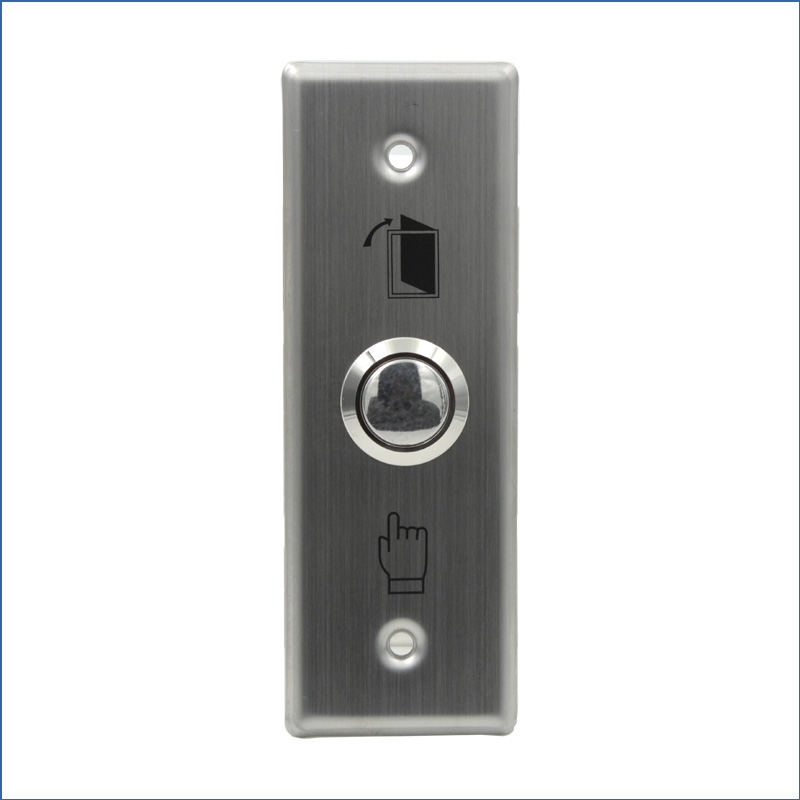 Free Shipping Stainless Steel Door Switch Exit Button Push Button For Electric Lock Access Control Gate Opener