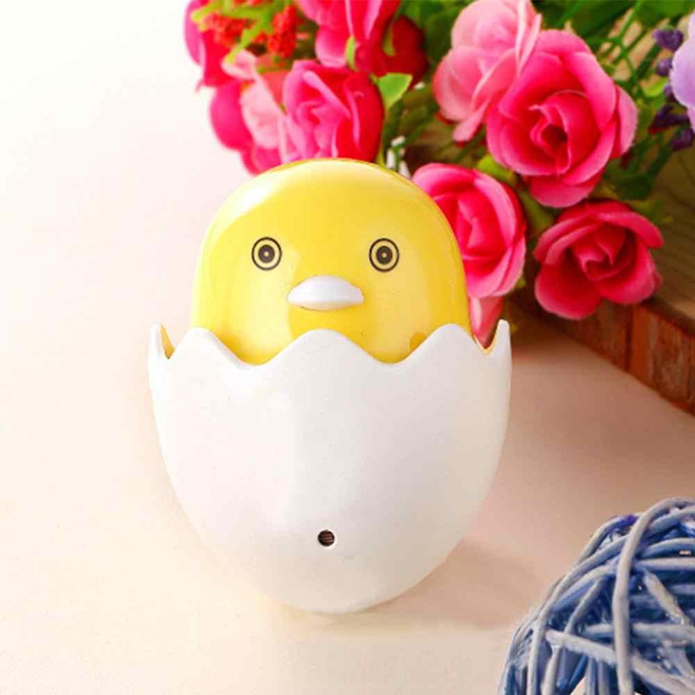 Адеинг датчик света популярный ночник маленькая Желтая утка ночник детская спальня креативный мультфильм Декор лампа с евро вилкой