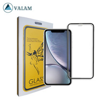 VALAM Tempered Glass Screen Protector For iPhone XR 9H Hardness Full Cover 3D Curved Edge Xs