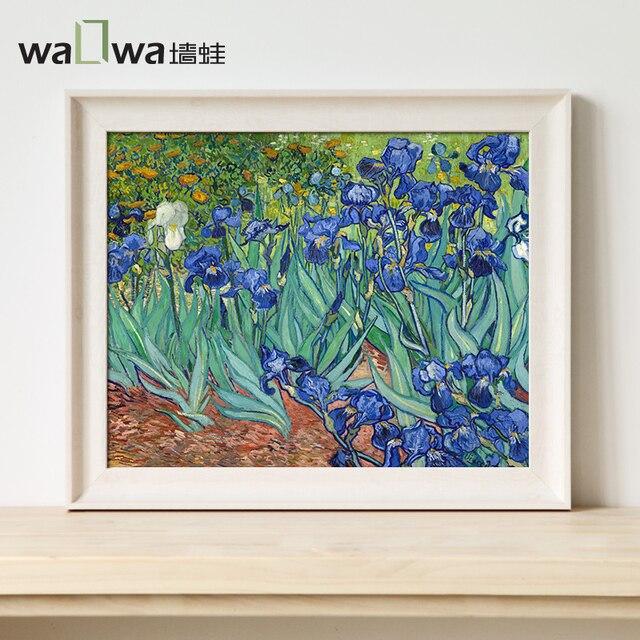 Pittura Moderna Americana.Us 238 0 Van Gogh Wall Rana Iris Pittura Moderna Americana Soggiorno Pittura Decorativa Camera Da Letto Murales Dipinti Pittura Portico Restau In