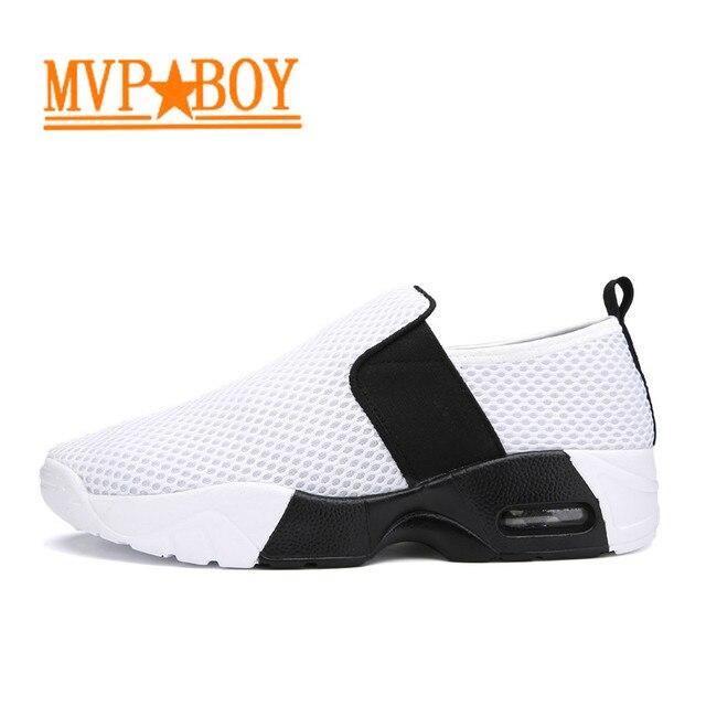 Mvp Boy Breathable lightweight Slip on superstar shoes jordan retro old  skool patins quad zx flux outdoor jogging luchtbed Spor ca35af874