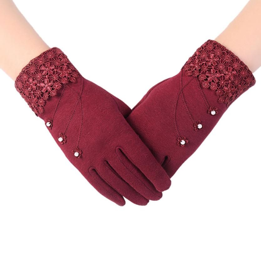2016 Hot Womens Fashion Touch Screen font b gloves b font Female Lady font b Winter