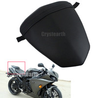 Motorcycle Black Rear Pillion Passenger Seat For Yamaha YZF R1 2009 2014 YZF R1 YZFR1 09