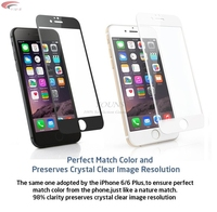 New 0.26mm Full Screen Protection Tempered Glass For iPhone 6 Screen Protector Film 4.7 inch 9H Hardness Explosion Proof