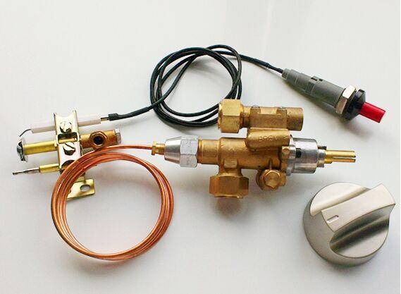 ปิดอัตโนมัติแก๊สอย่างปลอดภัยวาล์ว Thermocouple วาล์วนักบิน