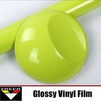 1 52X1m 5x3 3FT PVC Super Gloss Vinil Sticker Stonge Self Adhesive Sticker Decal Sheet Film