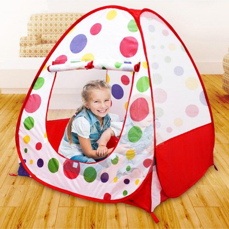 divertido beb de los nios kids play tent carpas juego de interior casa de juegos casa