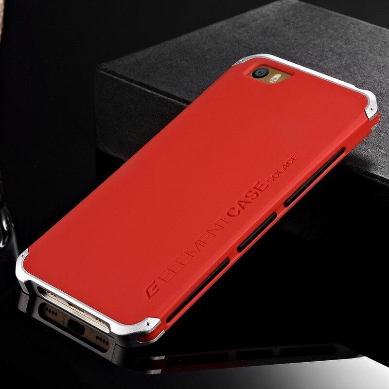 imágenes para Elemento de lujo Cajas Del Teléfono para Xiaomi Mi5 con Diseñador Elemento de Aluminio y Caja de la PC