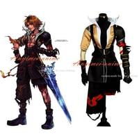 Final Fantasy Ffx Teda Tidus Jacket Coat Game Cosplay Costume Tailor made[G458]