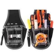 1 unid DIY Hardware Nylon bolsillo electricista herramienta de trabajo  cinturón destornillador alicates organizador titular cd1706bcf14b