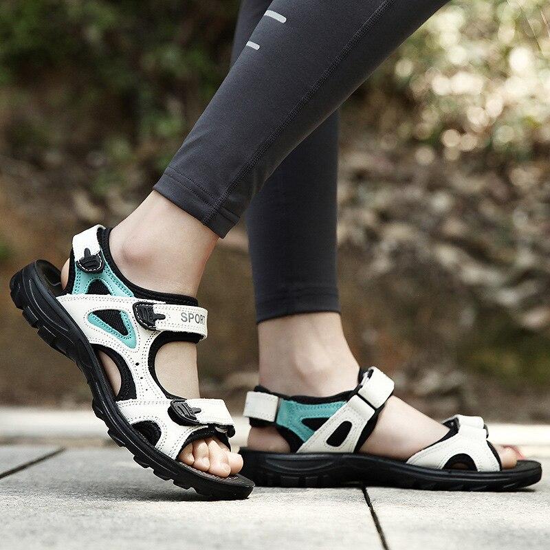 2019 nova alta qualidade marca de moda euro para anna fora sandálias de praia sandálias eu38