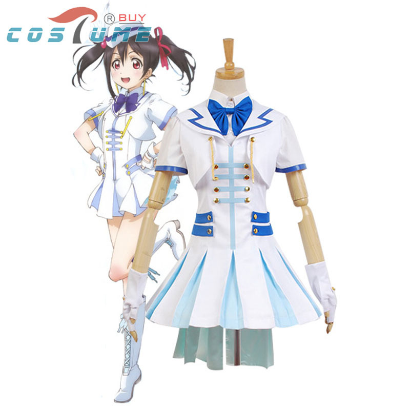 Anime LoveLive! Love Live Wonderful Rush Nico Yazawa Cosplay Costumes For Women Halloween Costume