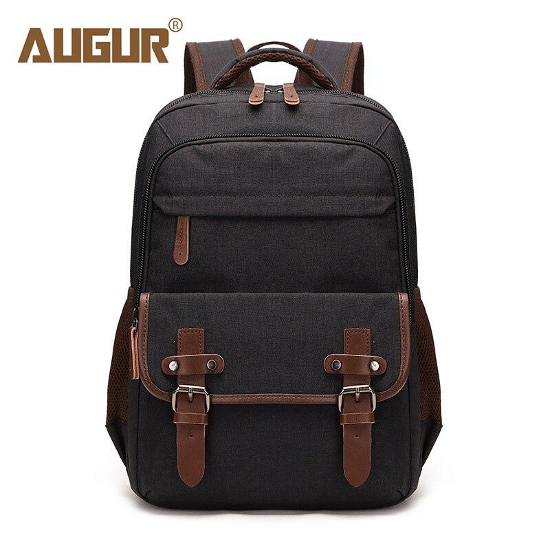 2b6c101979 AUGUR 2018 Backpack Laptop Women Waterproof School Bag Multi-Function Men'S  Backpacks Casual Travel Bags