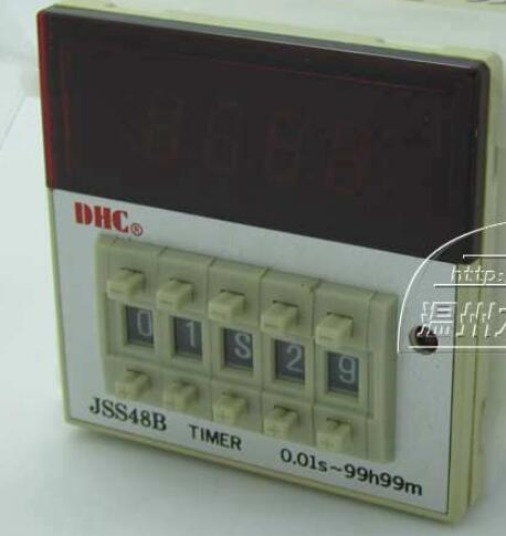 Wenzhou Dahua time relay JSS48B positive or countdown timer relay 8 pins with base wenzhou dahua time relay dhc6a a3 power failure to maintain the call to continue with lcd backlight with backlight