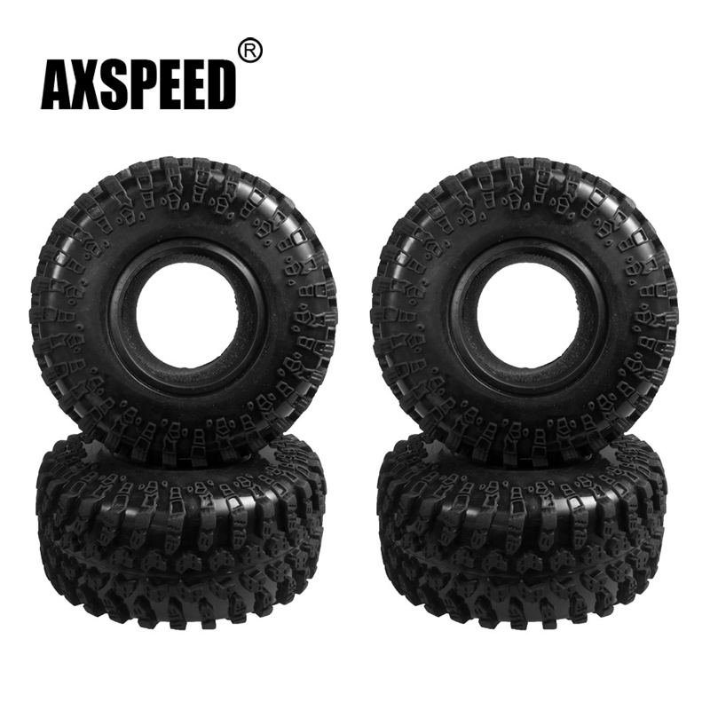4pcs 130MM 2.2 Rubber Rocks Tyres / Wheel Tires for 1:10 RC Rock Crawler Wheels SCX10 RC4WD D90 D110 4pcs 3 2 rubber rc 1 8 wheels
