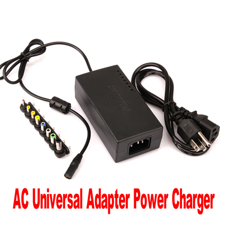 New 96w Universal Ac Adapter Power Supply With 8 Pieces