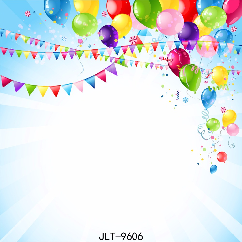 SJOLOON birthday vinyl photography background computer printed photography backdrops baby photo backrop for photo studio props kidniu chair background for baby photo studio props scenic vinyl street photography trees backdrops screen 9x5ft an070
