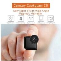WiFi IP Mini Camera Control With Magnetic Clip Wearable 720P HD Micro Camera C3 Wireless Espia
