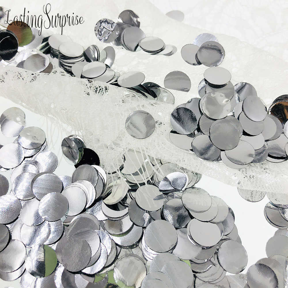 1cm 10 gr/beutel Mischfarben Metallic Rose Gold Mini Runde Konfetti Punkte Füllung Luftballons Baby Dusche Hochzeit Engagement Dekorationen