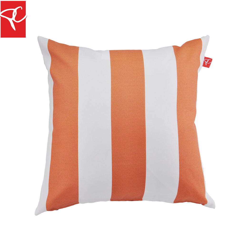 How Big Should Throw Pillows Be : PC 2pcs/lot Big Simple Striped Throw Pillows Home Decor Cushion Cover Water Repellent Bed Sofa ...