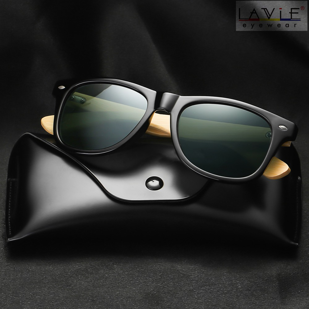 2019 New Polarized Bamboo Sunglasses Photochromic Men Wooden Sun glasses Women Brand Original Glasses Oculos de sol masculino 1