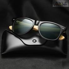 2019 New Polarized Bamboo Sunglasses Photochromic Men Wooden Sun glasses Women Brand Original Glasses Oculos de sol masculino