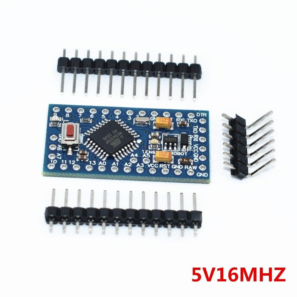 100pcs 5V 16M ATMEGA328P Pro Mini 328 Mini ATMEGA328 5V 16MHz for arduino