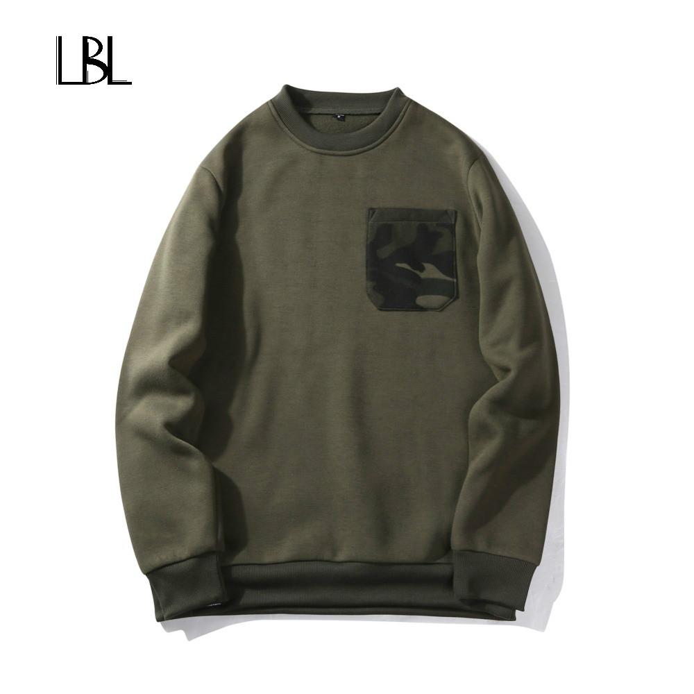 Europe Size Men Hip Hop High Street Long Sleeve Hoodies Jaqueta Masculina Fashion Camouflage Casual Sweatshirts Men Sportswear