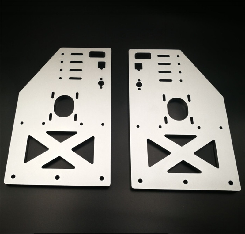 A Funssor 2pcs* OX CNC taller gantry plate kit Y gantry 10mm thickness 29cm height Taller Y Gantry Plates for the OX CNC