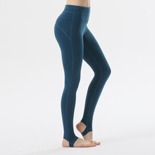 ec1d28e7e13cf8 navy color Professional Sports Leggings Step on foot Fitness Yoga Pants  Running Tights Gym Sportswear Sports Trousers Leggins